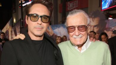 Stan Lee y Robert Downey Junior