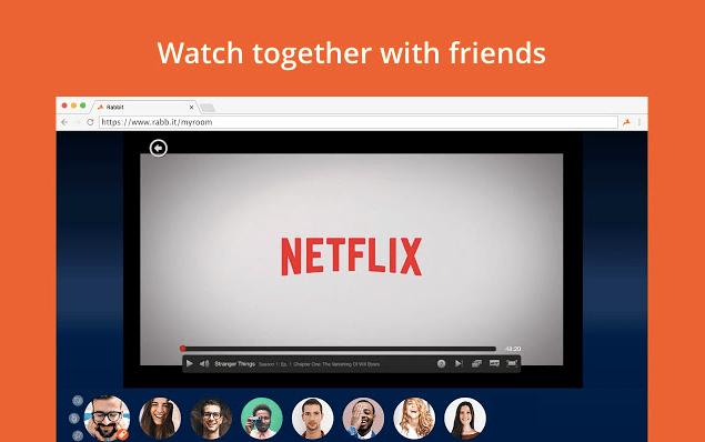 Rabbit for Netflix