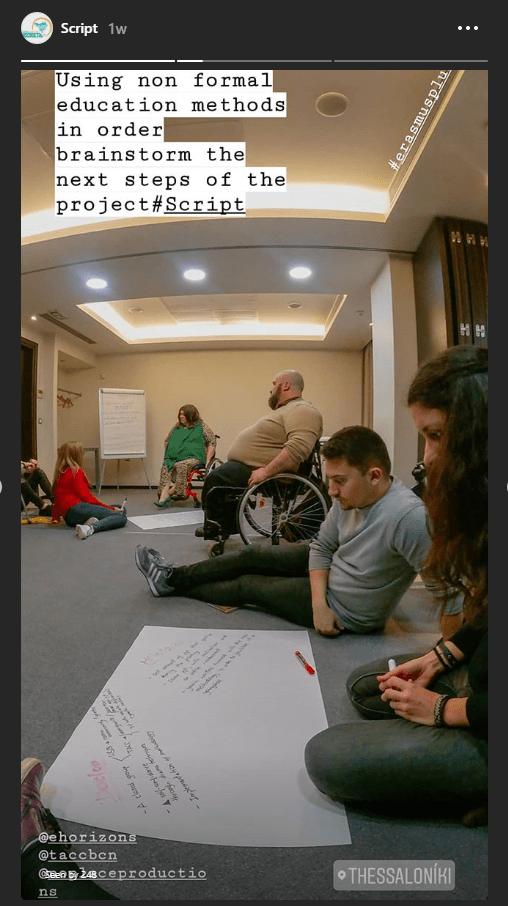 script project meeting