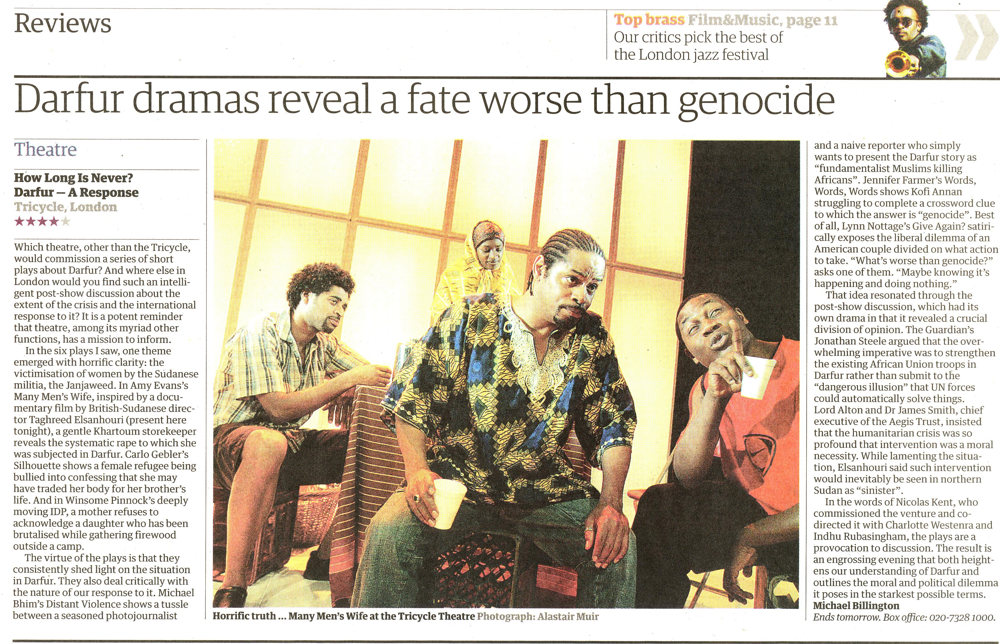 The Guardian, 27 October 2006