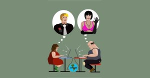 A possibilidade de ilusão causada pelos relacionamentos online.