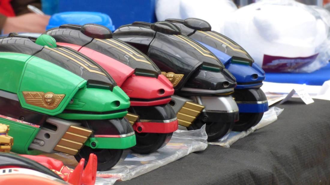 Power Rangers - Foto dos Organizadores
