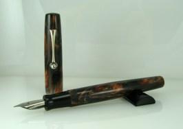 Scrivener in Black and Tan alumilite - 2