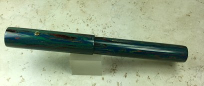 Aeterna in LE Deep Sea Ebonite, elongated section, Medium