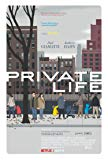 Private Life poster thumbnail