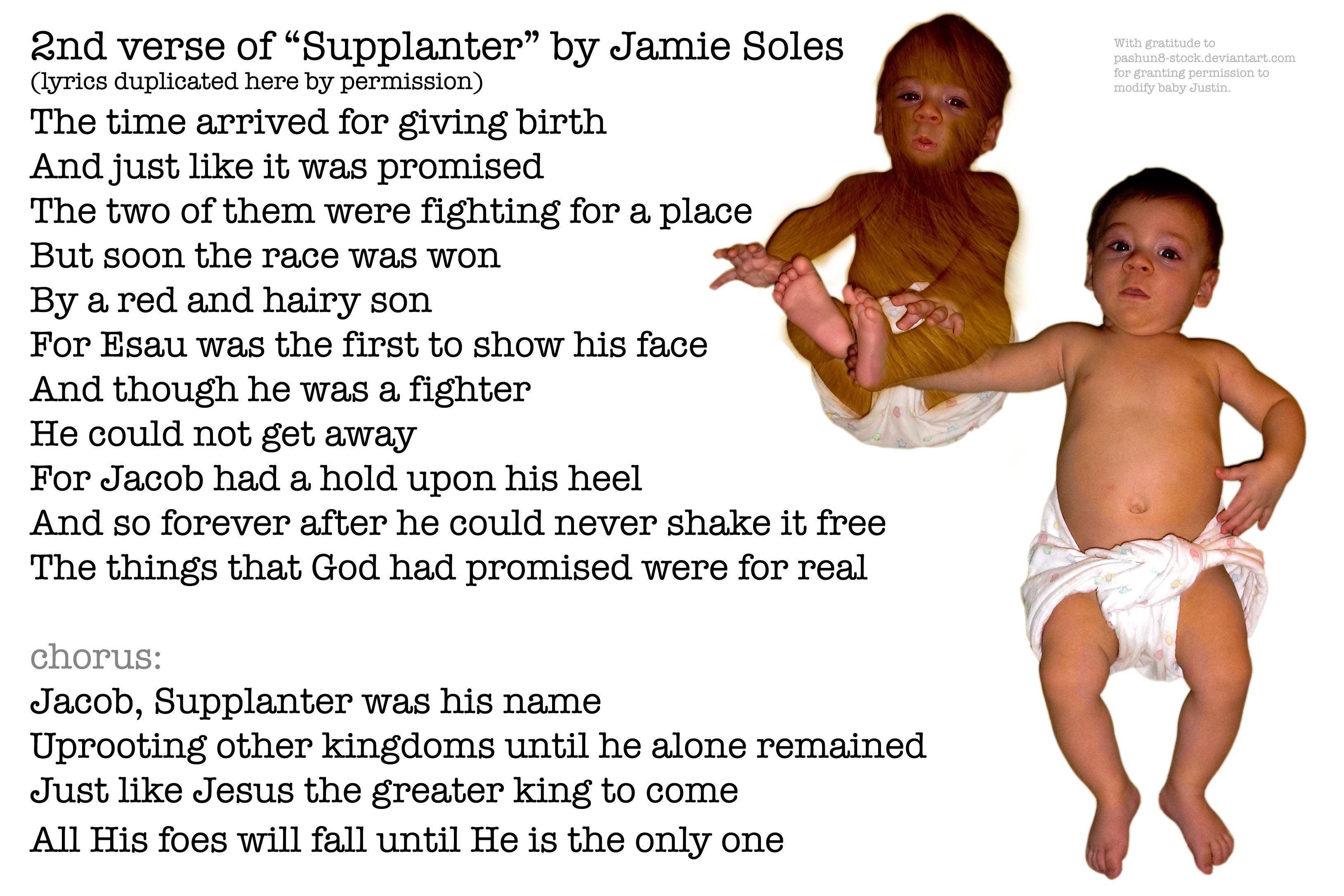 Lesson Esau S Heel Jacob S Soup