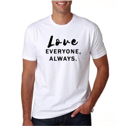 Love-Everyone-Always-White-Tshirt