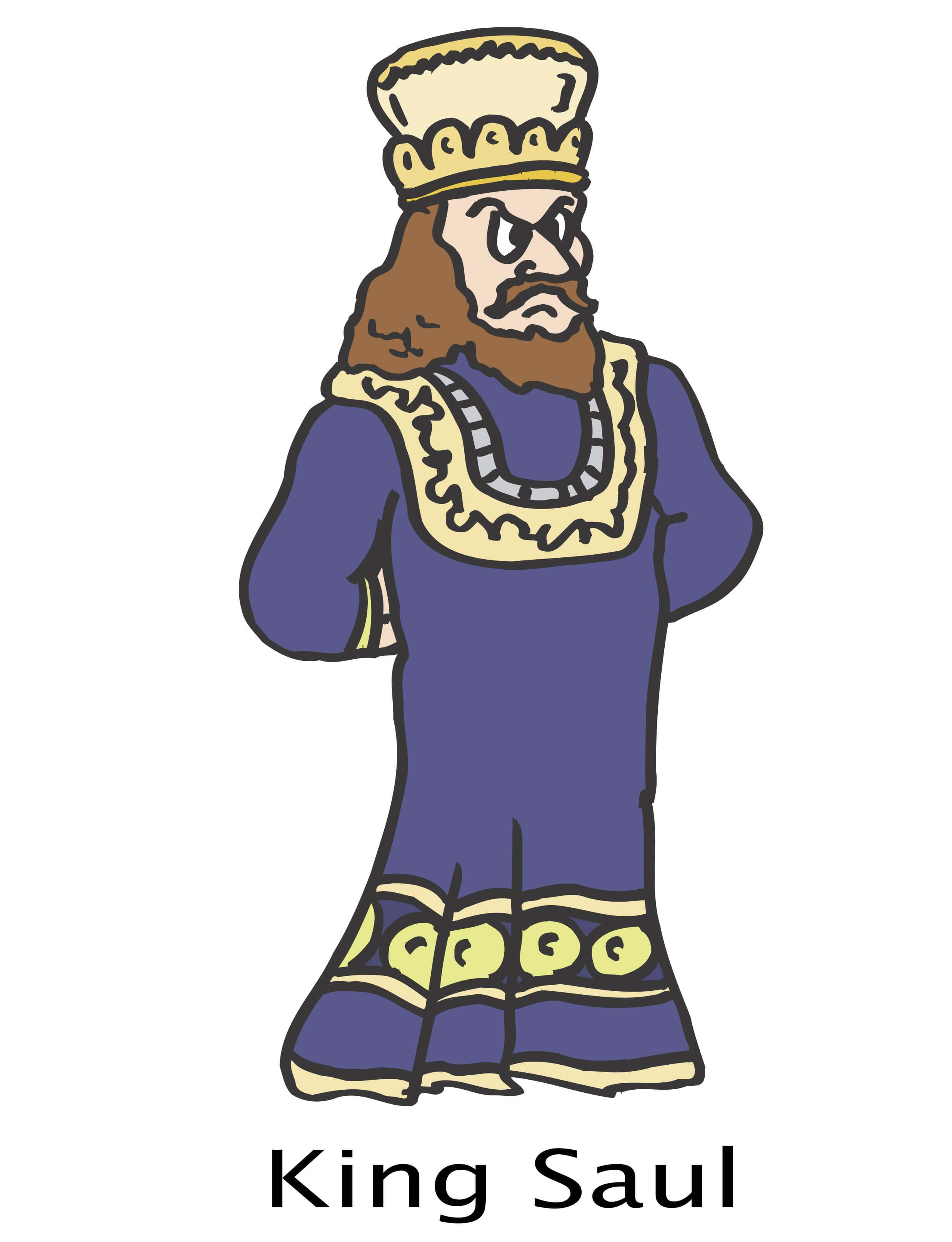 King Saul S Crown The Bible Story Of King Saul For