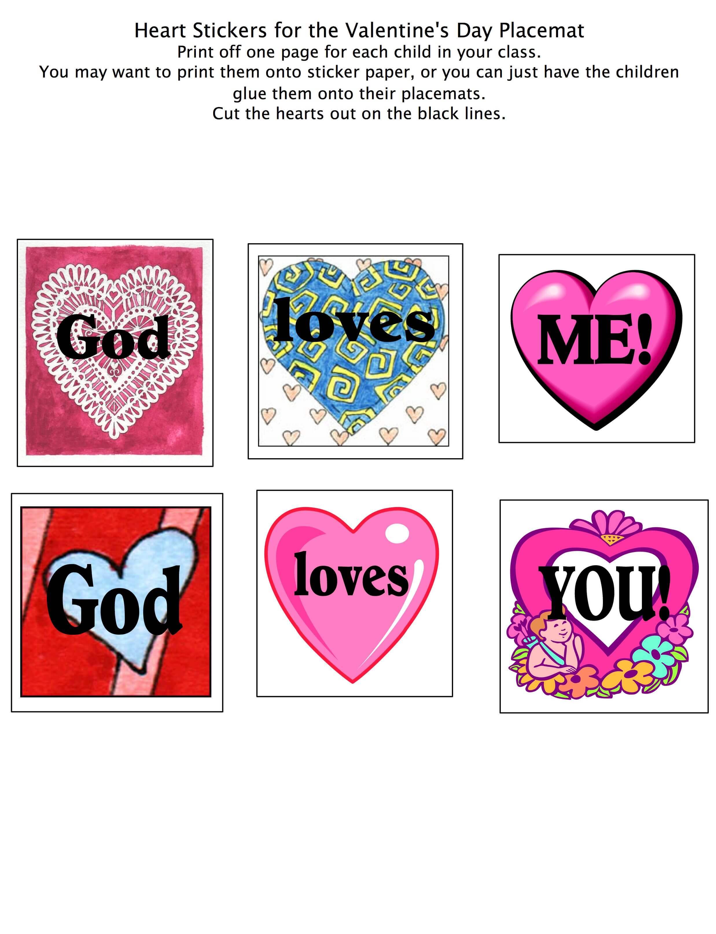 A Story Of God S Love A Preschool Bible Lesson For Valentines Day