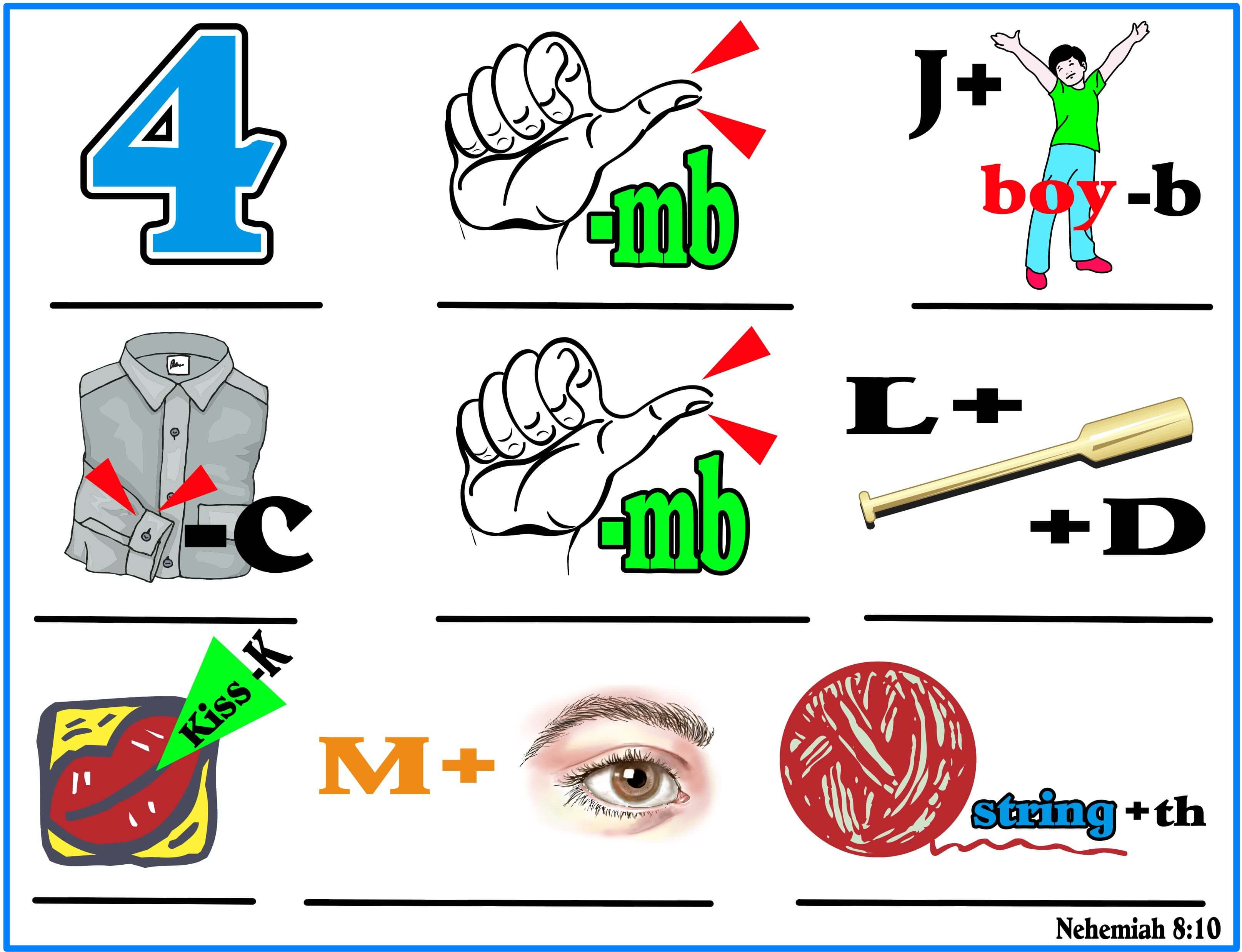 Pictogram Puzzles For Kids