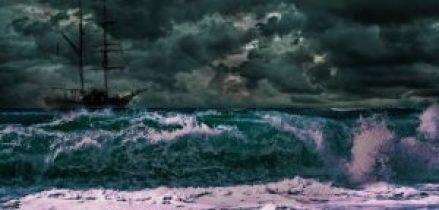 capiatni coraggiosi - mare in tempesta