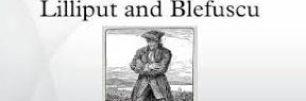 i viaggi di Gulliver. il narratore spiega le origini della guerra tra Lilliput e Blefuscu