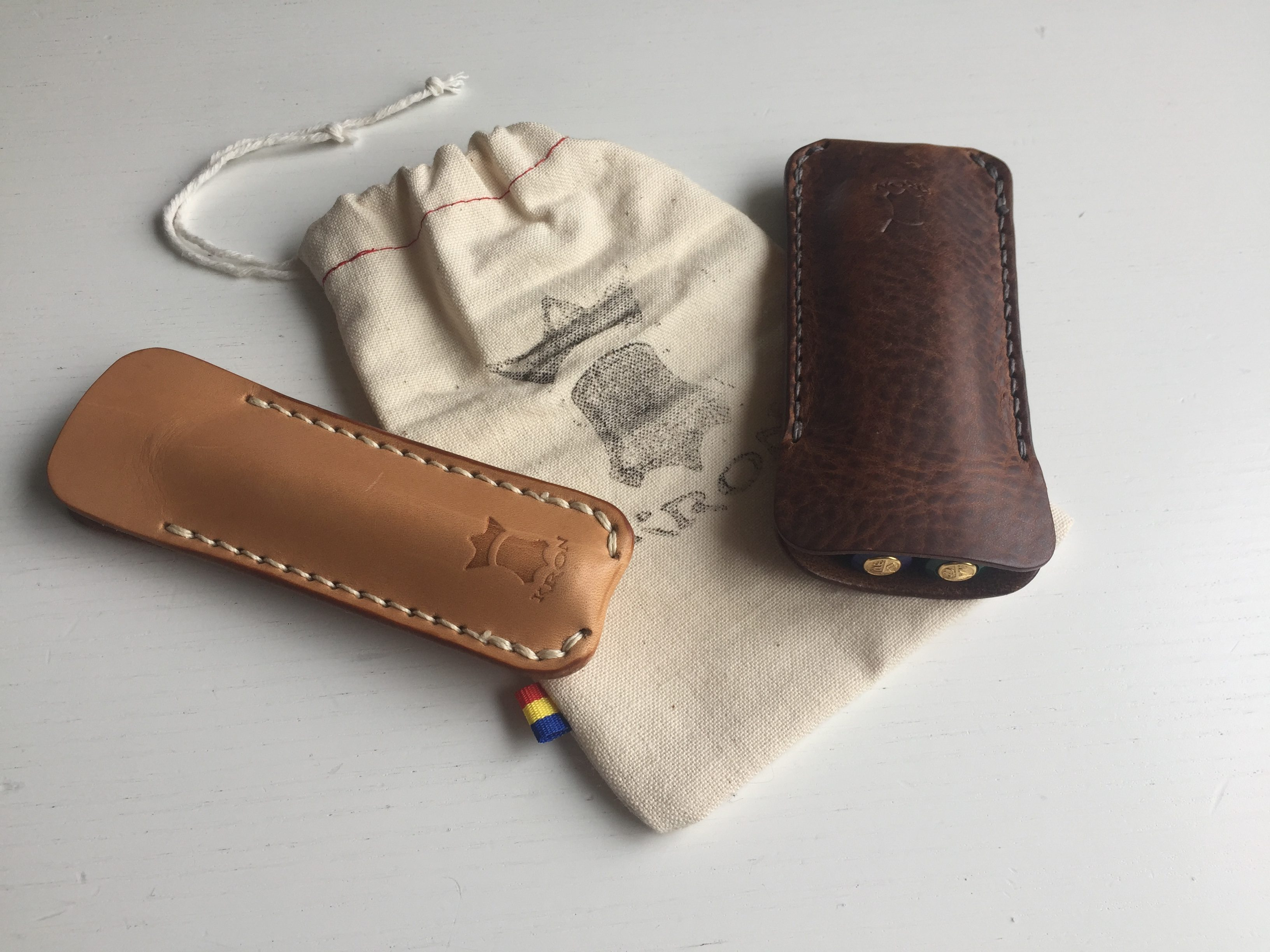 "KRON Leather Goods ""Kaweco Sport Pen Pouch"""