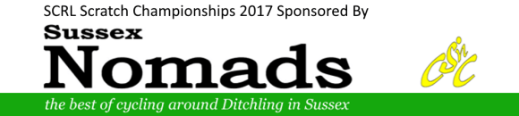 sussex cycle racing track league scratch championships 2017 sponsored by sussex nomads