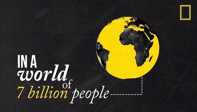 Photo of National Geographic – 7 მილიარდიანი მოსახლეობა