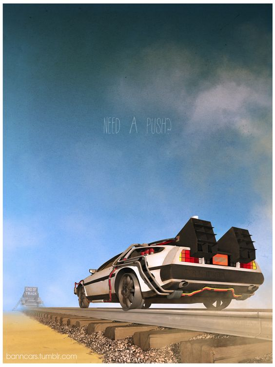Back to the Future III - Nicolas Bannister:
