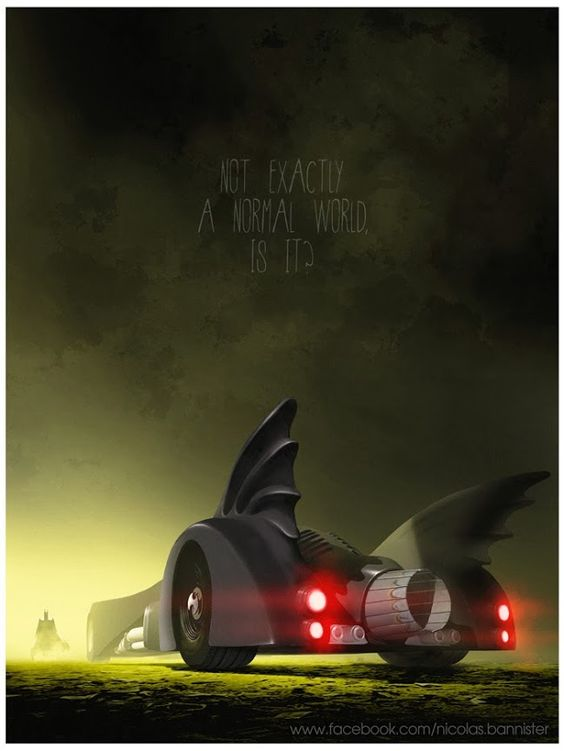 Famous Movie Vehicles By Nicolas Bannister: