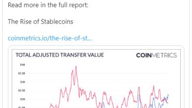 Photo of Stablecoin-ებმა პირველად გაასწრეს Bitcoin-ს გადაცემული ღირებულების მოცულობით