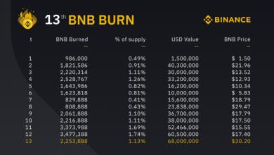 "Photo of Binance-მა განახორციელა BNB ტოკენების უდიდესი რაოდენობის ""დაწვა"" ფიატურ ეკვივალენტში"