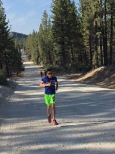 Mountain Side Running