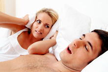 Does choking, coughing or snoring keep you or your spouse up at night?