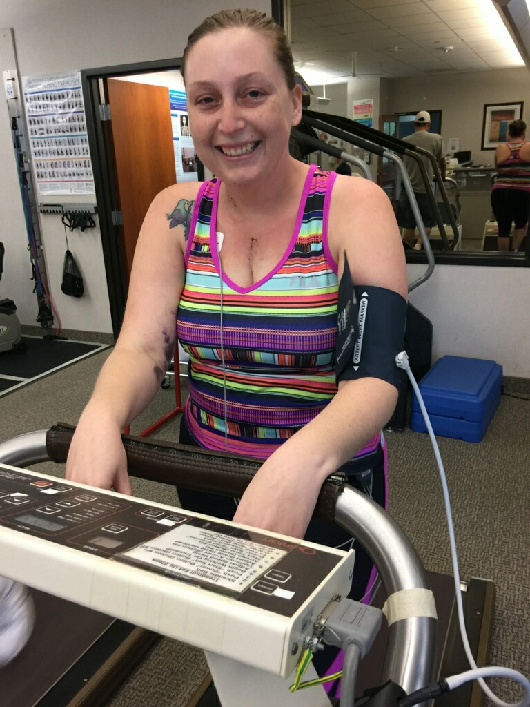 Christina Tucker cardiac rehabilitation