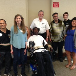 Trauma survivors reunite with caretakers who saved their lives