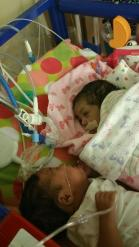 Momo twins, Zaniya and Adrianna