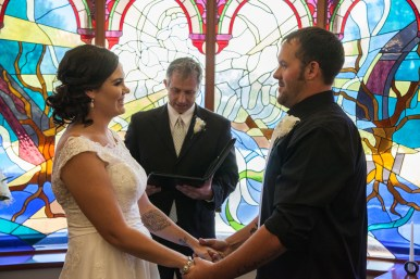 A special moment for Lindsey and Craig Woodruff