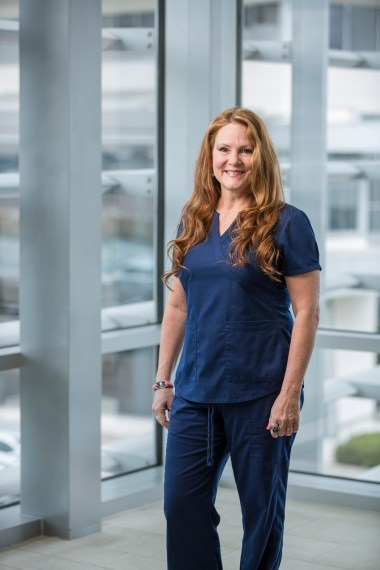 Sharon Bruer, RN, a transplant nurse at the liver pancreas disease center on the medical staff at Baylor University Medical Center at Dallas, was recognized on the 2016 100 DFW Great Nurses list.
