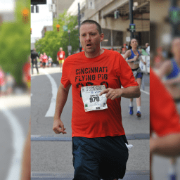 Heart transplant patient runs marathon one and a half years after surgery