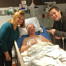 72-year-old returns to active life following coronary artery bypass surgery
