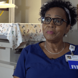 Nurse celebrates 45 years of service