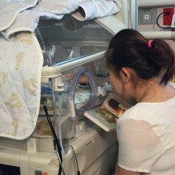 For a baby in the NICU, parent's voice is the best medicine