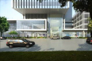 Front Entrance at The STAR - Exterior Rendering