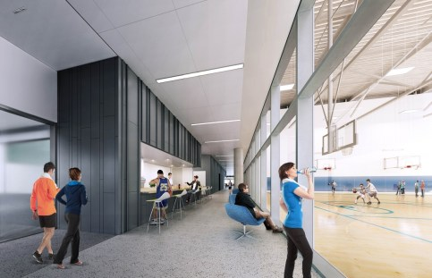 Sports Performance Program at The STAR – Interior Rendering