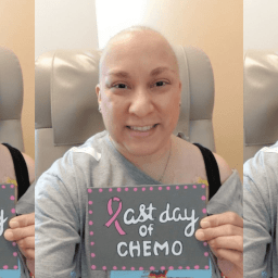 "My breast cancer story: Learning to ""just roll with it"""