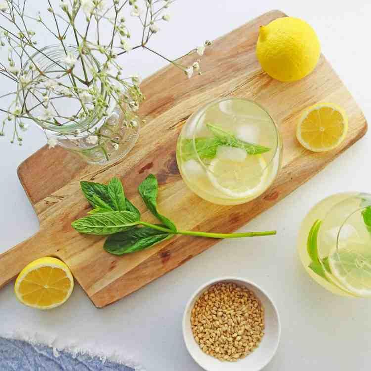 Lemon Barley water 4