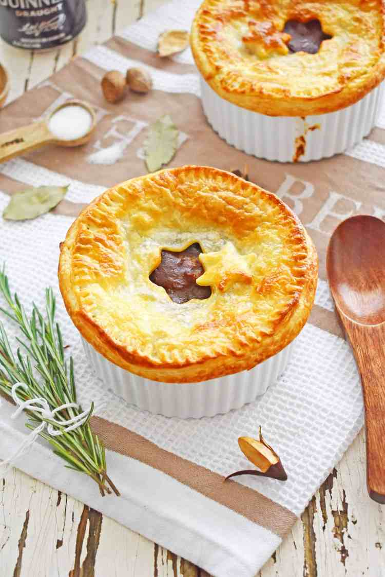 Steak and Guinness Pot Pies