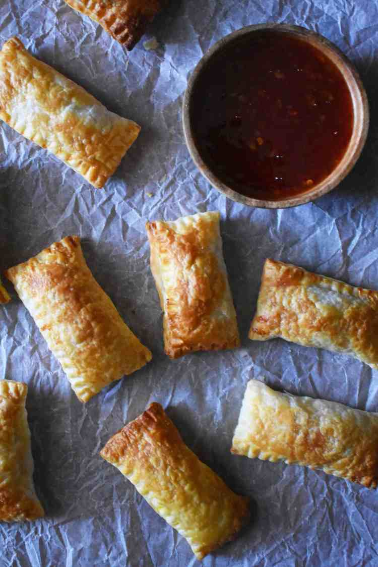 Oven Baked Vegan Curry Puff