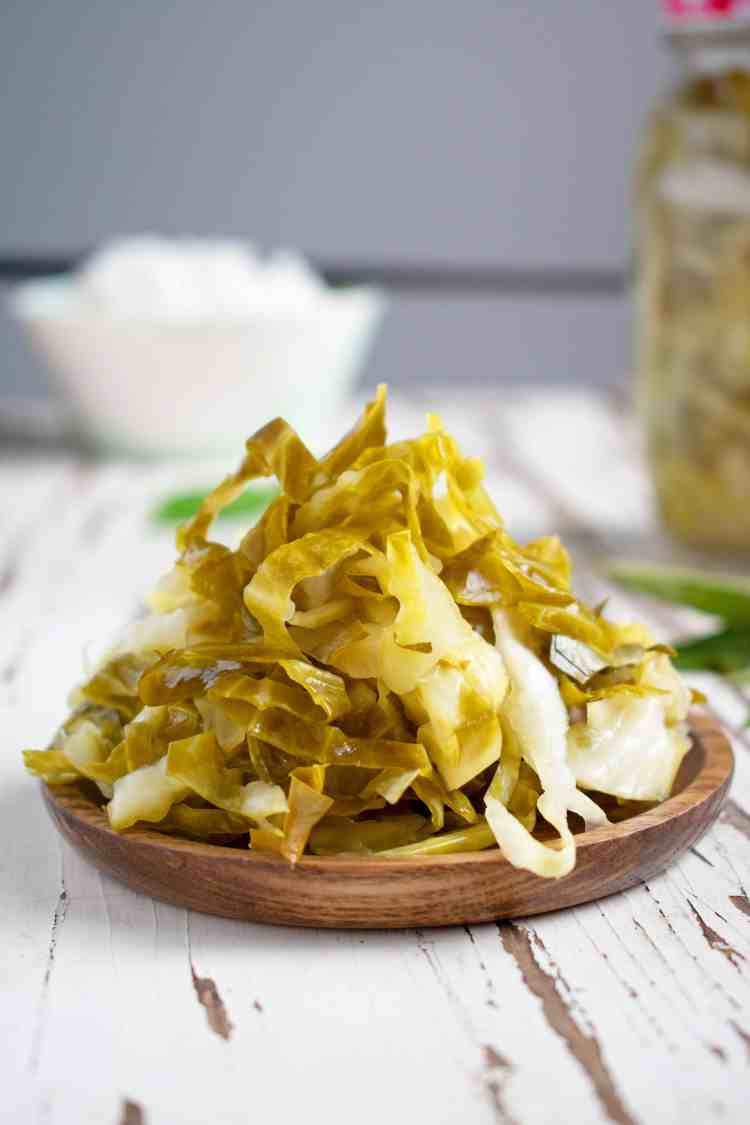 Vietnamese Pickled Cabbage