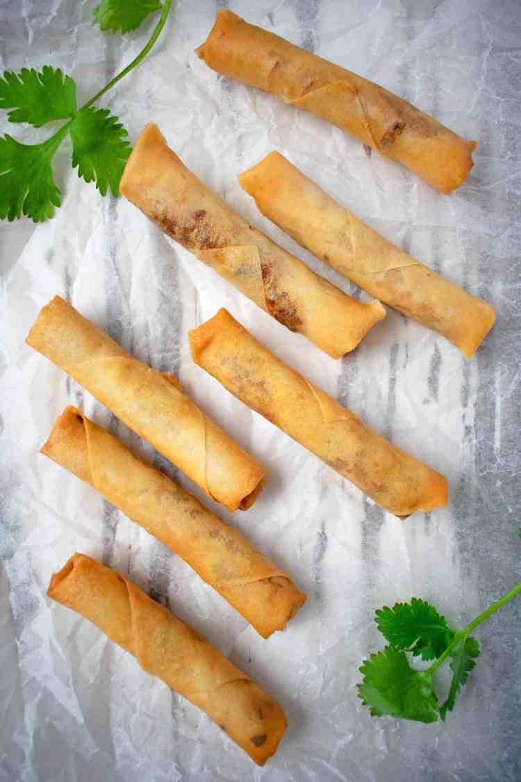Vegan Fried Spring Rolls