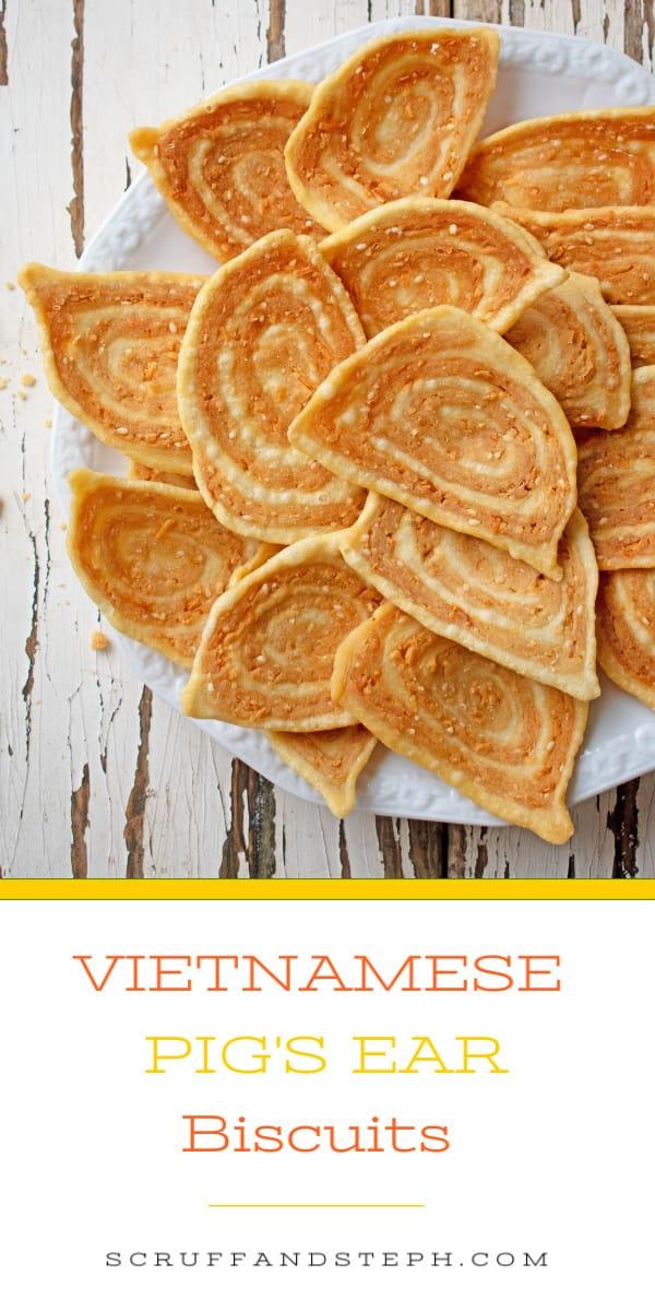 Vietnamese Pig Ear Biscuits
