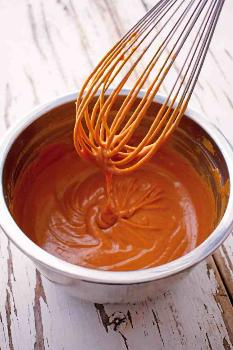 The Easiest Spicy Peanut Sauce