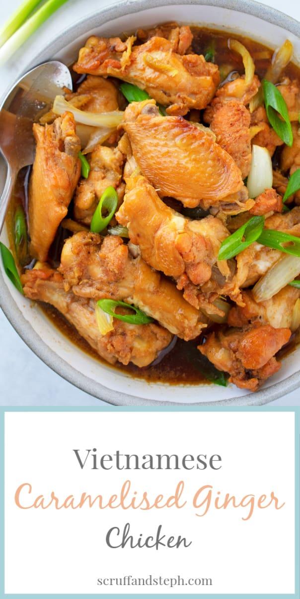 Vietnamese Caramelised Ginger Chicken (1)