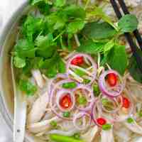 Vietnamese Chicken Pho (Pho Ga)
