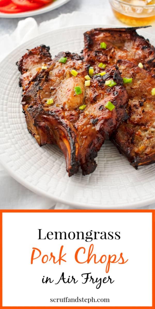 Vietnamese Lemongrass Pork Chops