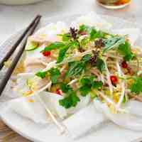 Quick Rice Noodle Salad with Vietnamese Ham