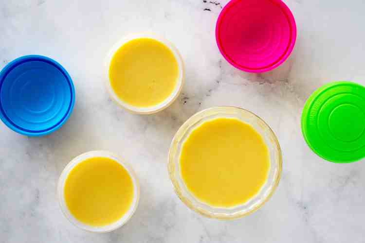 All Seasons Mango Pudding in Moulds