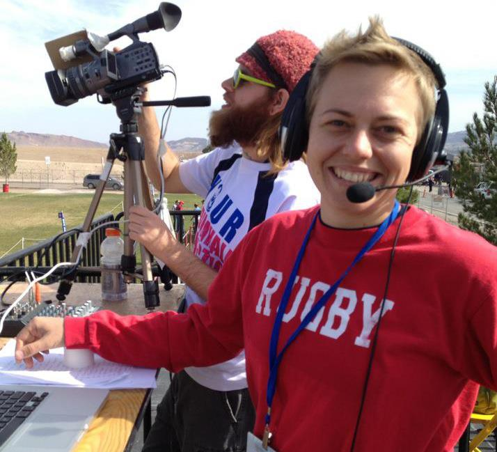 Wendy Young - Rugby Commentator